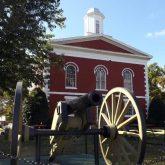 I C Courthouse Cannon
